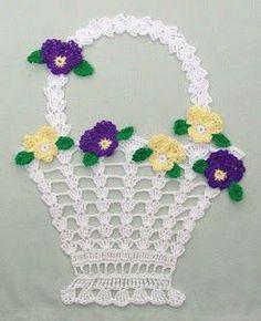 DE MIS MANOS TEJIDOS Y MAS...: Adornos para tu hogar tejidos a crochet                                                                                                                                                      Más