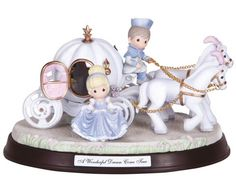 features Cinderella getting ready to take a carriage ride to the ball. Figurine is musical and plays the tune: A Wish is a Dream You Heart Makes. $99.95 Click Image to Buy Now at CollectibleShopping.com