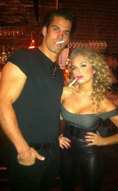 Halloween from Eric Decker and Jessie James! Such a cute idea