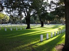 National Cemetary- Beaufort, SC.  My daddy's resting place.
