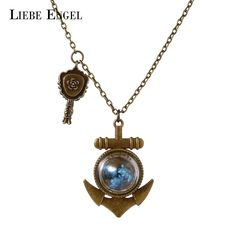 Find More Pendant Necklaces Information about LIEBE ENGEL Beautiful Dried Flower Anchor Shape Necklace & Pendant Vintage Long Sweater Chain Jewelry Glass Choker Necklace 2017,High Quality necklace glass,China necklace jewelry set Suppliers, Cheap necklace ladybug from LIEBE ENGEL Official Store on Aliexpress.com