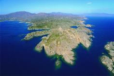 Imatge aèria del Cap de Creus