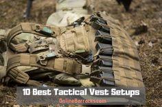 10 Best Tactical Vest Setups For 2020 Best Bug Out Bag, Molle Vest, Military Vest, Molle System, Pistol Holster, Plate Carrier, Tactical Vest, Military Equipment, Guns