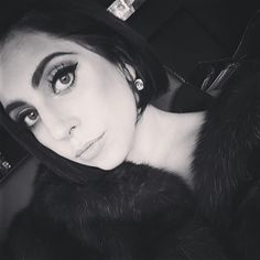 NEW HAIRDO: Lady Gaga shows off a black bob hairstyle in recent Instagram