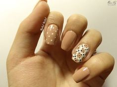 Nail Art · Diseño Rombos y puntos/Rhombuses and dots Design · Paso a Paso
