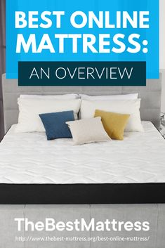 Online mattress shopping is more popular than ever. But what company offers the best value? We evaluated the competition and found the best online mattress! Best Mattress, Mattress Brands, Bedroom Furniture, Bedroom Decor, Mattresses, Bed Pillows, Pillow Cases, Shopping, Home
