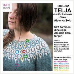 200-002 TELJA – Alpacka Solo – Garnmani.no