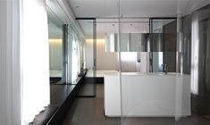 By Pitsou Kedem architects Pitsou Kedem, Design Language, Clean Design, Bathroom Interior Design, Shelves, Bedroom, Architecture, Interiors, Tel Aviv