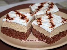 Kávés szelet • Recept | szakacsreceptek.hu