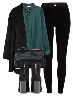 """""""Untitled #6520"""" by laurenmboot ❤ liked on Polyvore featuring River Island, H&M, Agnona, Givenchy and rag & bone"""
