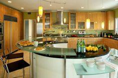 Best Kitchen Islands Designs: Wallpaper Kitchen Islands Designs ~ interhomedesigns.com Kitchen Designs Inspiration