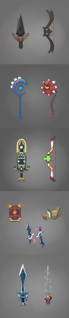 Pokéweapons