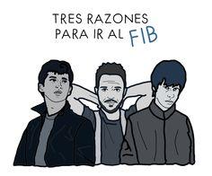 Tres razones para ir al FIB