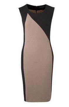 Color Block Sheath Dress via boutiika.com
