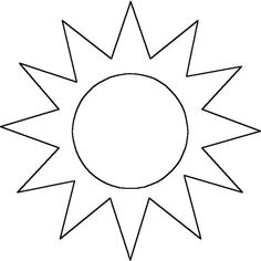 Sun Coloring Page from TwistyNoodle.com | Crafts | Pinterest ...