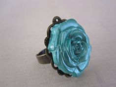Mod melt mod podge rose ring. Be sure to use Molds from www.MadAboutMolds.com