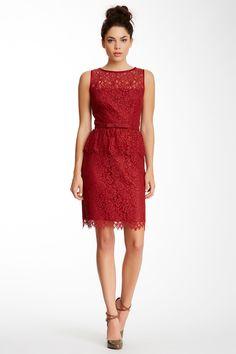 Trina Turk Laural Lace Peplum Dress by Trina Turk on @HauteLook