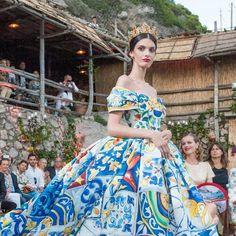 Dolce & Gabbana Alta Moda Fall 2014 Presentation on the Island of Capri | SENATUS