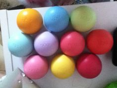 I love eos lip balm!!!! Seriously I have a terrible addiction to these