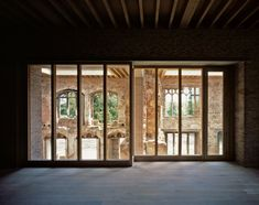Astley Castle by Witherford Watson Mann Architects in Warwickshire, United Kingdom