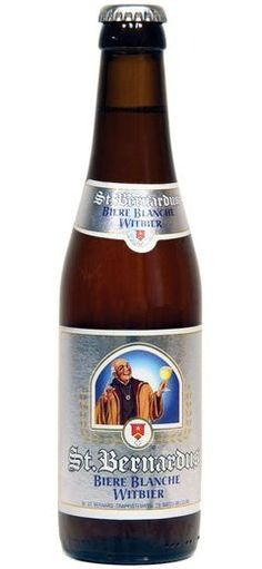 St. Bernardus Blanche: Imported wit beer from Belgium - http://www.beerz.co.nz/beers-in-new-zealand/st-bernardus-blanche-imported-wit-beer-from-belgium/ #NZ #beer #craftbeer