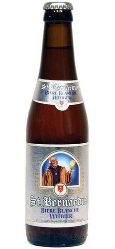 St. Bernardus Blanche: Imported wit beer from Belgium - http://www.beerz.co.nz/beers-in-new-zealand/st-bernardus-blanche-imported-wit-beer-from-belgium/ #NZ #beer #craftbeer