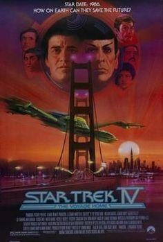 Star Trek Movie Poster The Voyage Home 24in x36 in