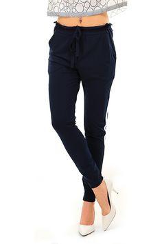 Kocca - Pantaloni - Abbigliamento - Pantalone con elastico sul fondo e  couilisse in vita regolabile b9b30ce3d4f