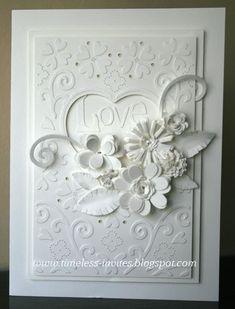Wedding card by bertha1tx  Wow! Beautiful!
