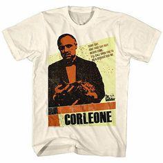 Godfather Corleone Off White T-Shirt