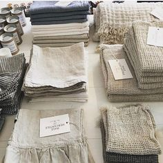 Shop our pure linen luxury collection. Our products are grown, spun, woven and sewn in Europe. Discover relaxed living with the luxury of our linen bedding. Linen Fabric, Linen Bedding, Bed Linens, Shibori Fabric, Bedding Sets, Linen Towels, Textiles, Linens And Lace, French Country Decorating