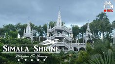 Cebu's Castle Church: Simala Shrine in Sibonga, Lindogon is a place for people who believes in miracles, this place has been known to be miraculous. The Mona...