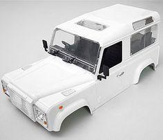 1/10 Land Rover Defender D90 Hard Plastic Body Kit www.rc4wd.com
