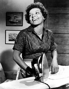 "Ruby Dee in ""Raisin in the Sun"":  From Annie Hall to Amelie, A Retrospective of Iconic Movie Characters via @WhoWhatWear"