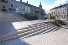 Stairs give way to stormwater runoff at Gondrecourt-le-Château, France. Visit the slowottawa.ca boards >> http://www.pinterest.com/slowottawa/