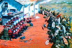 British defense of Rorke's Drift against the Zulus