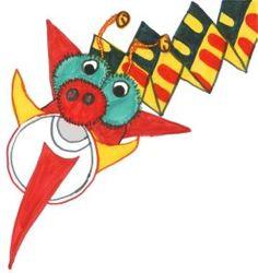 Thinking Day 2013- Vietnam Inspired craft...Mush Dragon Puppet