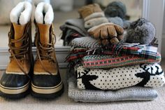 Sorel boots and more for snowy winter days