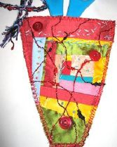Elizabeth Saunders wrote an article for the December 2014 issue of Workshop on the Web showing how small scale patchwork pieces can be used to create a scissor keeper.  A great project.