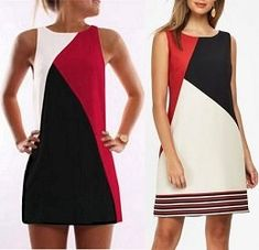 VK is the largest European social network with more than 100 million active users. T Shirt Sewing Pattern, Casual Dresses, Fashion Dresses, African Wear Dresses, Batik Fashion, Diy Mode, Sleeves Designs For Dresses, Dress Making Patterns, Colorblock Dress
