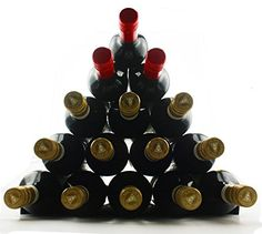 Winestakz Wine Storage System  Refrigerator or Bench Storage  Protection for Red Wine  White Wines Securely Stack up to 15 Full Size Bottles Reduce Wine Spoilage From the Cork Drying Out * This is an Amazon Affiliate link. Want additional info? Click on the image.