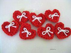 Suzetta's Heart Pin #crochet #craft