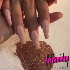 Naily - Nails Store ✈️ 5 to 30 days shipping time worldwide ⏰ 30 days free return DAYS FREE RETURN 📞 customer service. Naily - Nails Store ✈️ 5 to 30 days shipping time worldwide ⏰ 30 days free return DAYS FREE RETURN 📞 customer service. Fabulous Nails, Gorgeous Nails, Pretty Nails, Glam Nails, Nude Nails, Rose Gold Glitter Nails, Silver And Pink Nails, Powder Glitter Nails, Blush Pink Nails