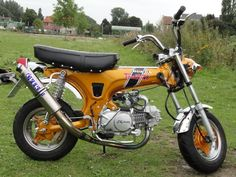 I moved up to this Honda CT70 Trail 70, from my z50 when i was a kid..