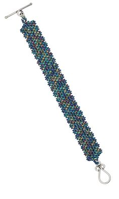 Bracelet with Seed Beads Free Tutorial Peyote stitch