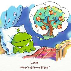 Cut The Rope - Sleeping Om Nom