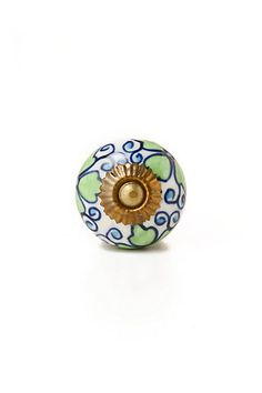 I want these for my kitchen cabinets! Villa Capri Knob - Anthropologie.com