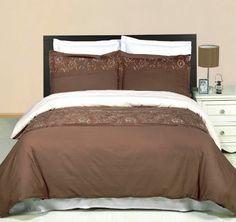 Script Butterfly Paris Chic Quilt Duvet Cover Bedding Set