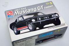 1/25 1967 Ford Mustang GT Fastback OVP - cyan74.com vintage & pop culture