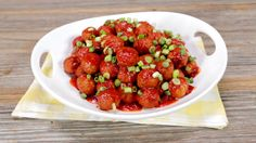 See how to make these sweet & spicy honey sriracha meatballs in your slow cooker. The secret to this easy recipe? Frozen meatballs.
